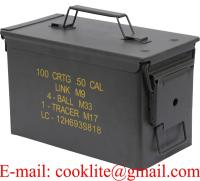 US / NATO Metal Ammo Box Ammunition Case Military Can - M19A1/M2A1/PA108 3