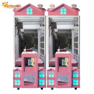 Wholesale toy: Luxury Coin Operated Indoor Toy Catcher Plush Toy Crane Claw Machine
