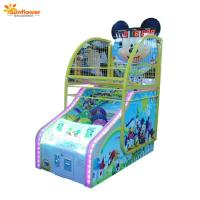 Amusement Park Coin Operated Kids Basketball Game Machine Basketball Shooting Redemption Machine