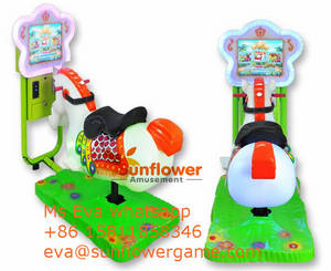 Wholesale multi coin acceptor: South America Popular 3D Video Multi Games Horse Kiddie Rides for Sale