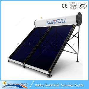 Wholesale galvanic heaters: 300L Flat Plate Pressurized Solar Water Heater