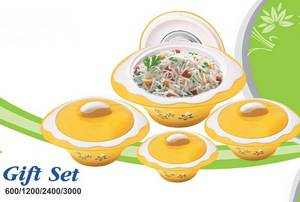 Wholesale gifts: Plastic Hot Pot Casseroles Sets
