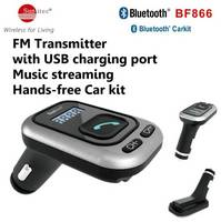 Portable Car Kit Hands-Free Bluetooth Wireless Talking & Music Streaming Dongle