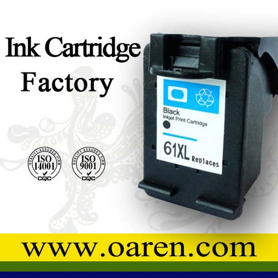 Hot Sell Printer Ink Cartridge Ink Visible for HP61XL
