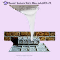Sell hard rtv2 liquid silicon rubber for imitation stone molds