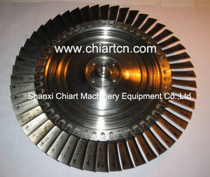 Wholesale turbine main shaft: Locomotive Turbocharger Parts-Turbo Wheel Disc