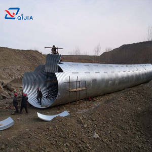 Wholesale Steel Structures: Corrugated Galvanized Steel Culvert Pipe