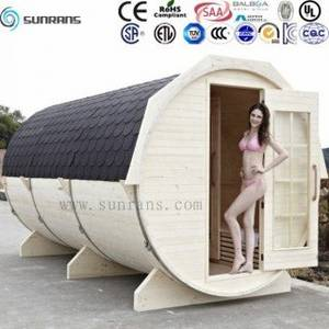 Wholesale finland sauna: Hot Sale Portable Outdoor Home Barrel Sauna Cabin