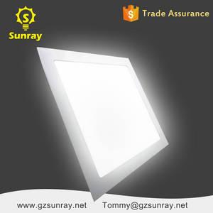 Wholesale led factory light: Zhongshan Factory Standard Sizes 3 Watt 6 Watt 9 Watt 12 Watt 18 Watt 24 Watt Square LED Panel Light