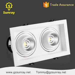 Wholesale led square downlight: Professional High Brightness Plastic Aluminium Square Downlight Dimmable IP65 30w LED Downlight