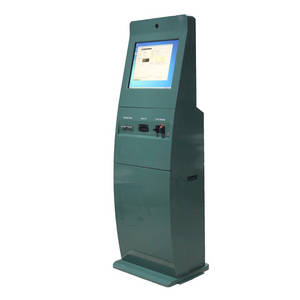 Wholesale Payment Kiosks: Self Service Bill Payment Kiosk with Bank Card Reader and Bill Acceptor