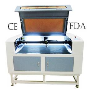 Wholesale lcd display: Sunylaser Rubber Laser Cutting Machine with Big Screen LCD Display