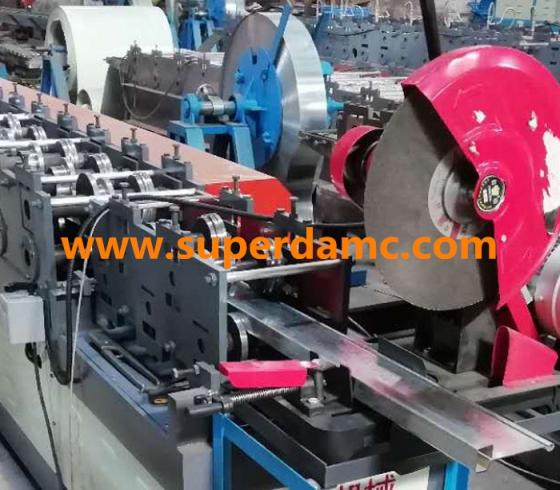 Sell Rolling shutter door frame roll forming machine