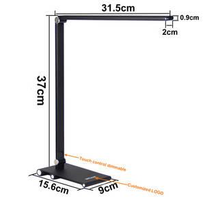 Wholesale lamp base: Slim Table Lamp Aluminium Alloy Arm Metal Base