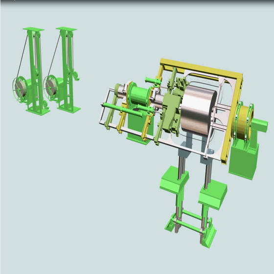 Sell  Automatic Steel Coil Strapping Machinery For Through Eye Strapping