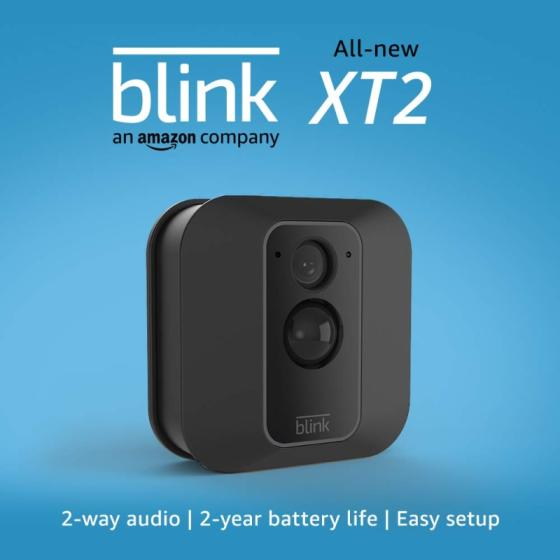 All-new Blink XT2 Outdoor Indoor Smart Security Camera with Cloud Storage Included