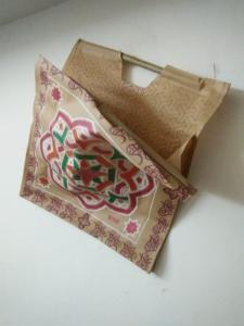Wholesale bags: Wooden Handle Bag