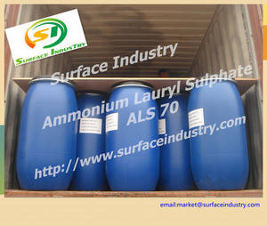 Wholesale irritation: Non-Irritation Raw Material Ammonium Lauryl Sulfate,ALS 70 / 30 / 25 for Personal Care