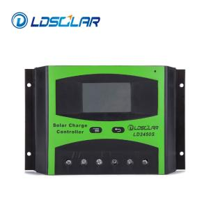 Wholesale solar panel: LDSOLAR Pwm Solar Panel Charge Controller 48v 40a