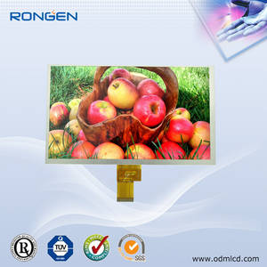 Wholesale elevator lcd advertising player: 9 Inch TFT LCD Screen