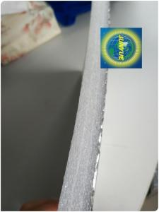 Wholesale foil insulation: Aluminum Foil Backed XPE Foam Fireproof Adhesive Insulation