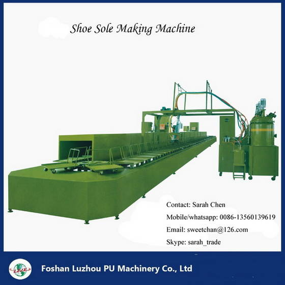Sell PU shoes footwear foam machine