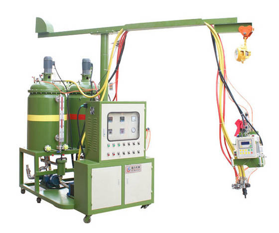 Sell Decoration PU rigid  wood imitation foaming machine