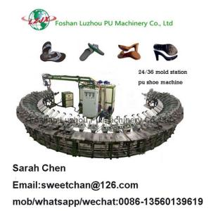 Wholesale casual shoes: Casual Shoes PU Foaming Production Line