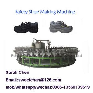 Wholesale mold: 24 Mold Stations PU Safety Boots Worker Safety Shoes Injection Foaming Making Machine