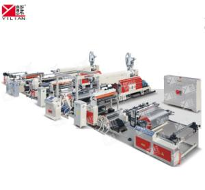 Wholesale double side coated: Yilian Brand SJFM1300dD Double Sides Cup Paper PE Extrusion Coating Machine