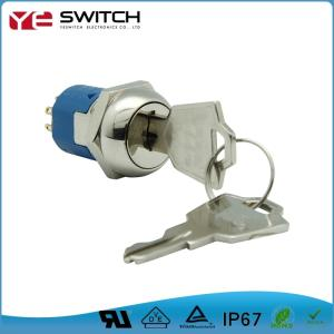 Wholesale key lock switch: Muiti Position 19mm Key Switch Lock