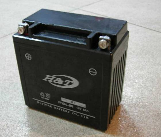 Sell YTX9L-BS GEL Motorcycle Battery