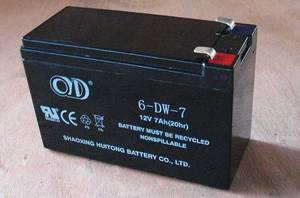 Wholesale lead acid battery: 12V 7AH Sealed Lead Acid Battery (SLA) with F1 Terminal