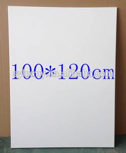 Wholesale gesso: 100*120cm Canvas Frame 100% Cotton Stretched Canvas