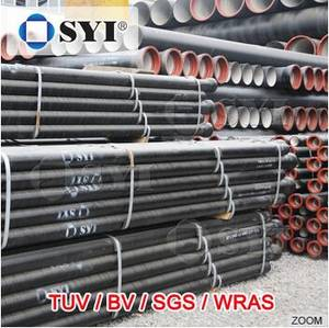 Wholesale ductile iron pipe: EN545 Ductile Iron Pipe for Water Use