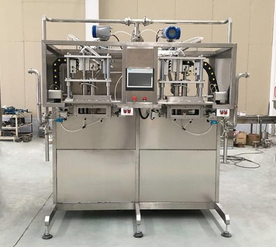 Sell bag in box filling machine