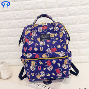 Wholesale mobile phone charms: Fashion small fresh sports Canvas Backpack