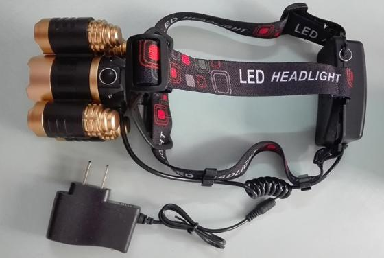 High Power LED Headlamp 5pcs LED Strong Light Head Lamp Form Camping