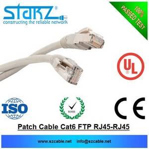 Wholesale cat6 ftp patch cord: FTP CAT6 Patch Cords, RJ45 To RJ45 PLUGS1,2,3,5,7,10 Meters
