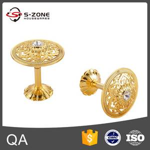 Wholesale curtain wall: Golden Crystal Curtain Wall Hook Tieback