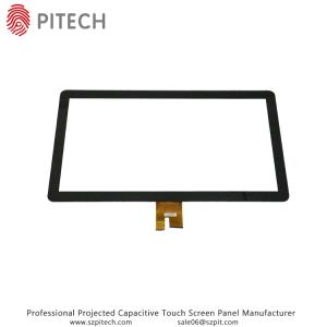 Wholesale capacitive touch screen panel: 55 Inches Big Projected Capacitive Touch Screen Panel