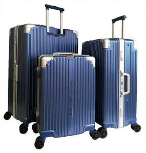 Wholesale luggage: Hard Shell Waterproof Travel Trolley Luggage Suitcase with 4 Wheel for Sale