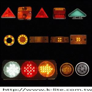 Wholesale bus: Truck and Bus Tail Light, Side Mark