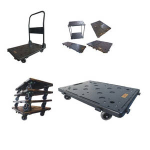 Wholesale platform cart: Multi-Function Folding Platform Trucks Hand Trolleys Carts