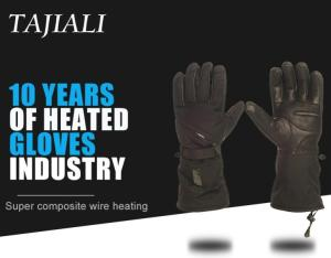 Wholesale gloves: Carbon Fiber Warm Heated Electric Shock Proof Gloves