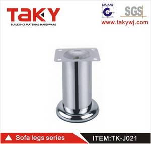 Wholesale sofa leg: TK-J021 Safa Accessory Metal Sofa Leg/Furniture Leg