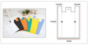 Wholesale hdpe bag: HDPE T-Shirt Plastic BAG