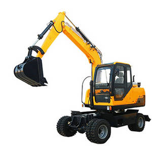 Wholesale hydraulic machinery: Good Quality Cheap Price Excavating Machinery Mini Wheel /Hydraulic Crawler Excavator Supplier