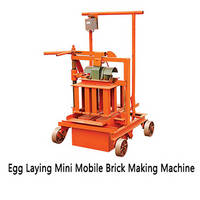 China Interlock Small Automatic Foam Concrete Block Making Machine/Clay Brick Manual Making Machine