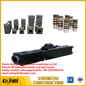 Wholesale spare: Ock Hammer Front Head /Hydraulic Breaker Cylinder /Hydraulic Breaker Control Valve Spare Parts